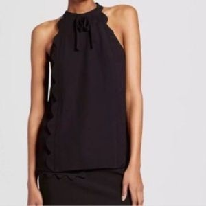 Victoria Beckham for target scalloped top